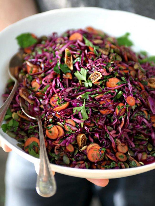 Receita Salada Roxa - Receita Leve e Saudável