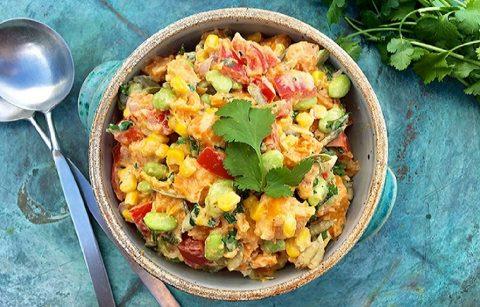 Receita: Salada de Batata Doce