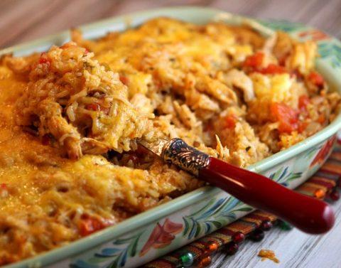 receita de arroz de frango