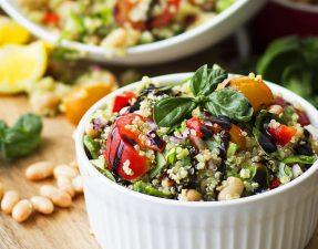 Receita: Salada de Quinoa e Feijão Branco
