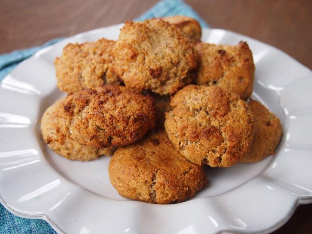 Biscoitos Canela e Passas