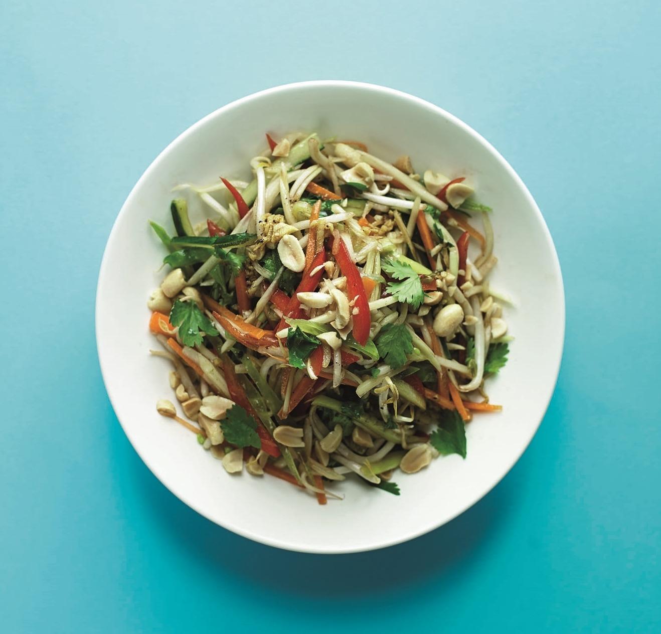 Salada Papaia e Manga